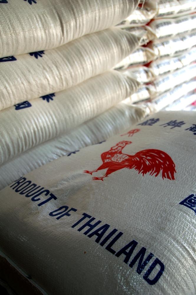 Reis - Exportartikel Thailand