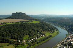 Reiseimpressionen - Blick auf die Elbe