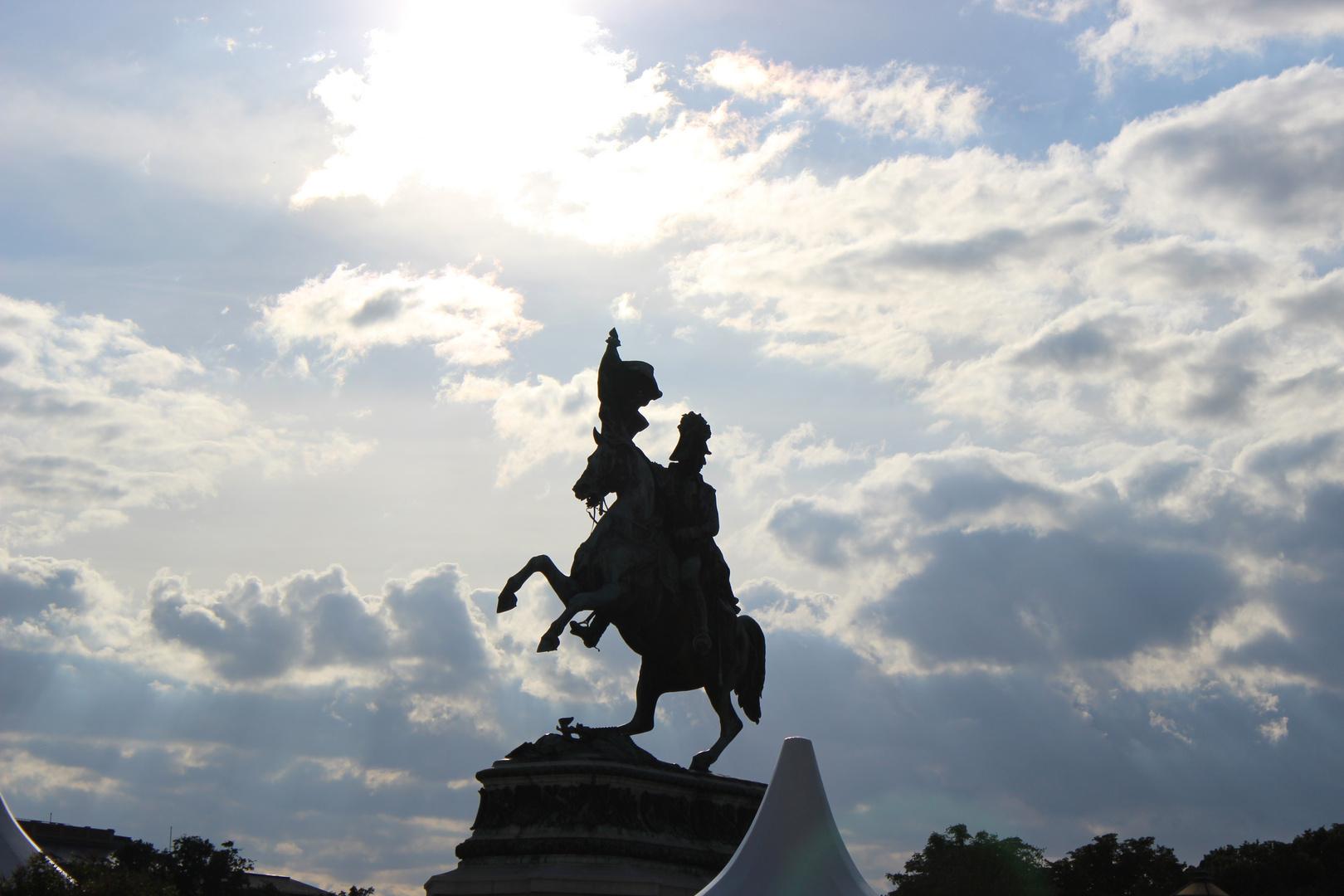 Reiter am Heldenplatz