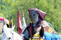Reiter in Kampfrüstung - Mittelalterlicher Markt Neuss