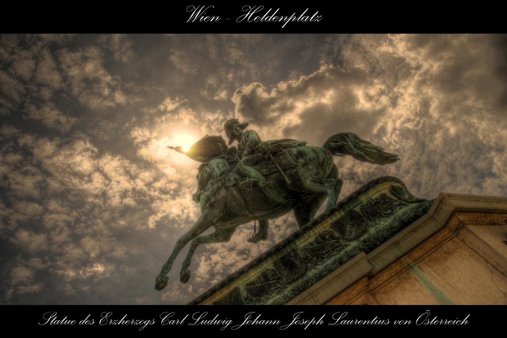Reiterdenkmal - Karl von Österreich-Teschen