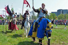 Reitergruppe - Neuss - Mittelalterlicher Markt