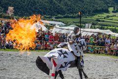 Reitkunst bei den Südtiroler Ritterspiele