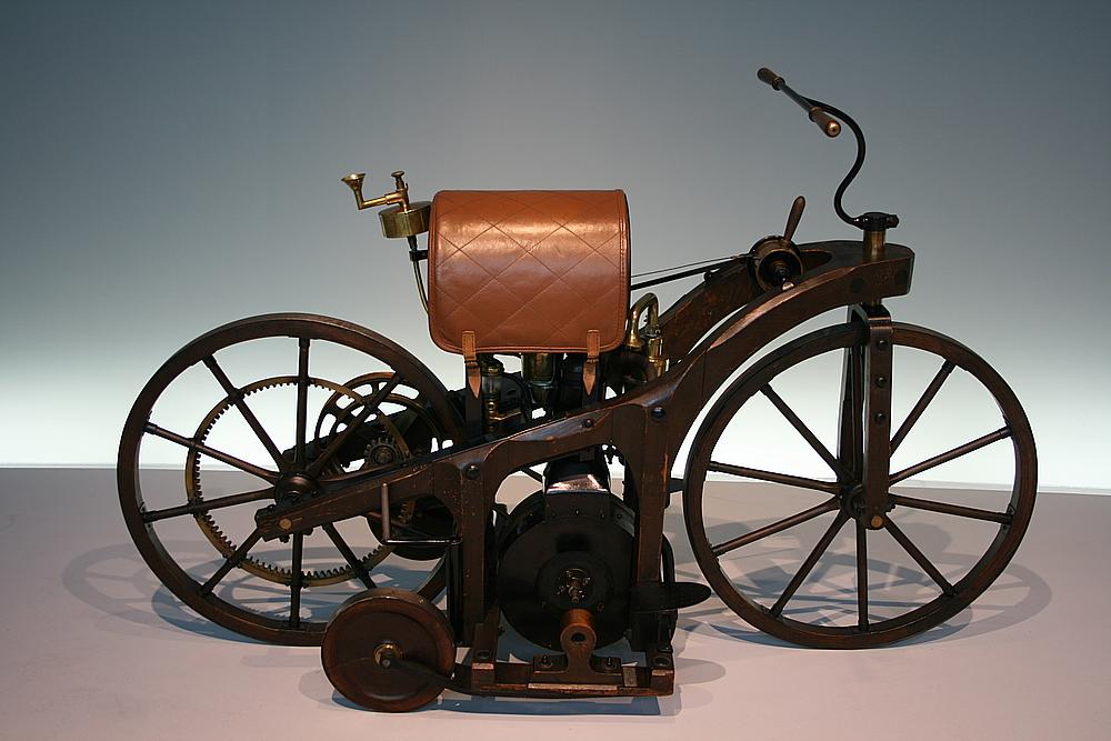 Reitwagen von G.Daimler