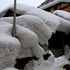 Rekordschneemengen in Airolo (Leventina) am 14.2.2014