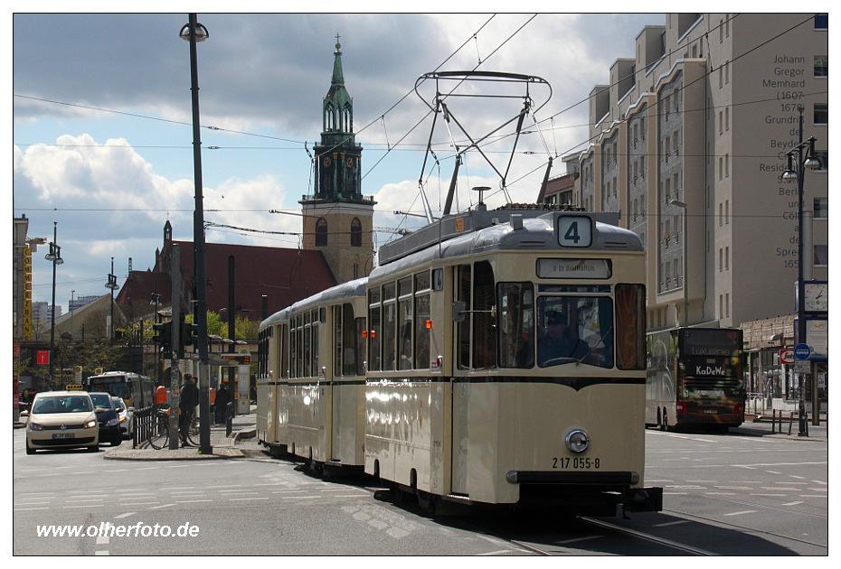 Rekozug in Berlin
