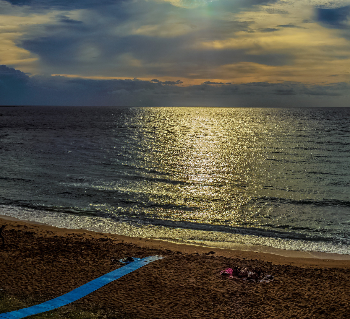 Relax al tramonto a Gallipoli