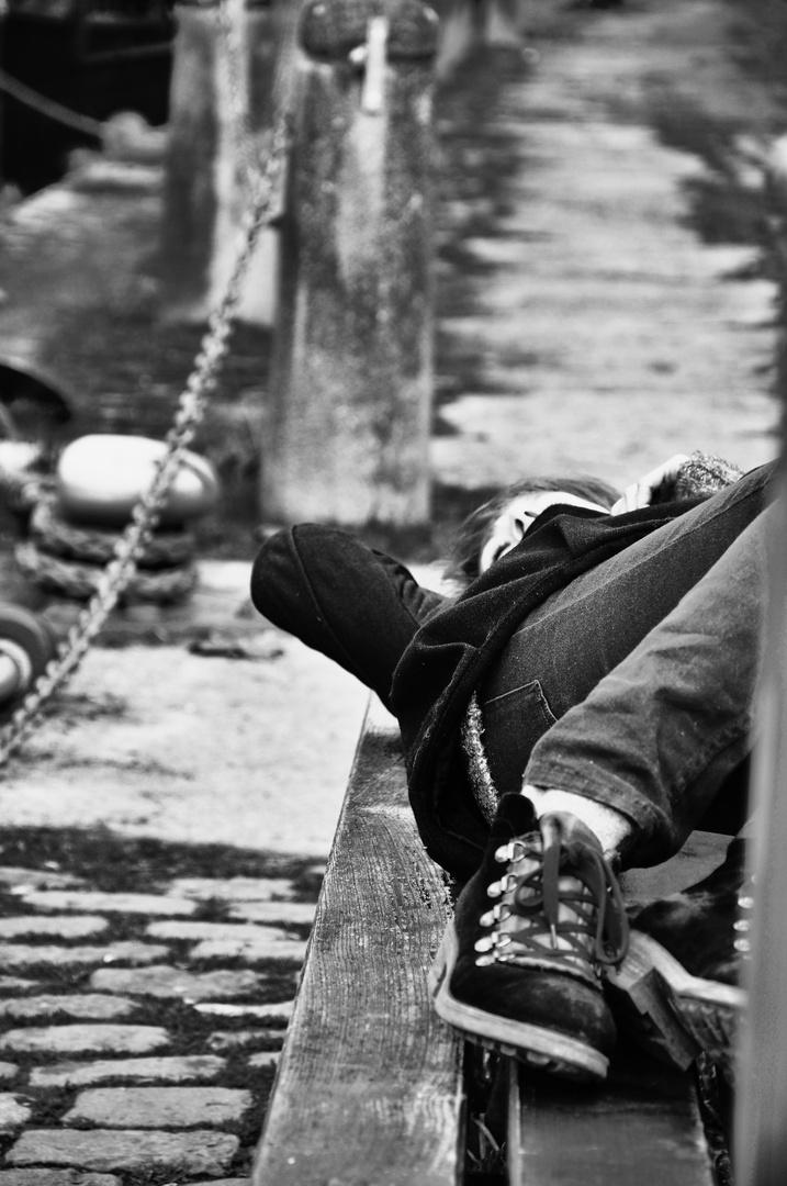Relaxed am Neckar.....