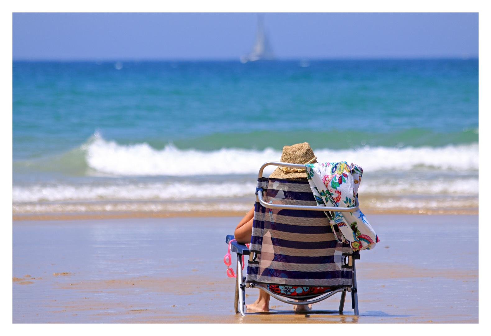 Relaxen am Playa la Barrosa