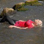 Relaxen im Fluß