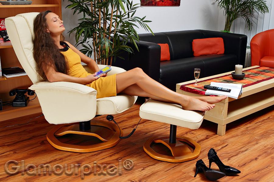 Relaxsessel mit Vibrationsmotoren