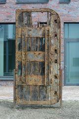 Relikt aus der ehemaligen Eisfabrik Bremerhaven