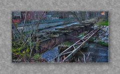Relikt der  alten Bahnstrecke....