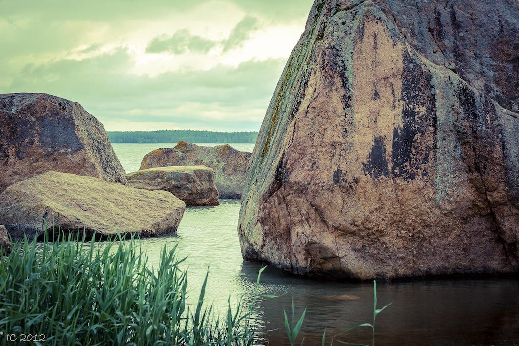 Relikte der Eiszeit - Riesenmurmeln an Estlands Küste