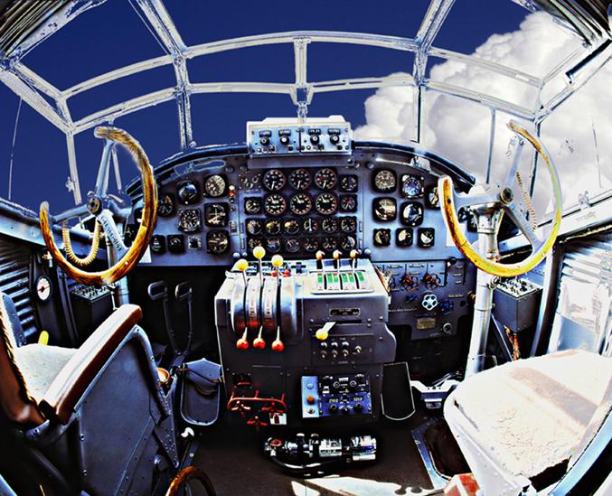 """reload """"cockpit"""" der Tante Ju"""
