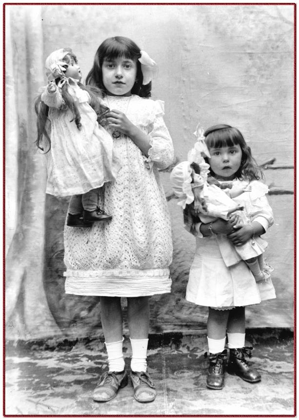 remake from glas negative anno 1910