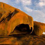 Remarkable rocks at sunrise