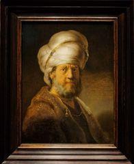 Rembrandt, Büste eines Mannes in orientaler Kleidung 1635