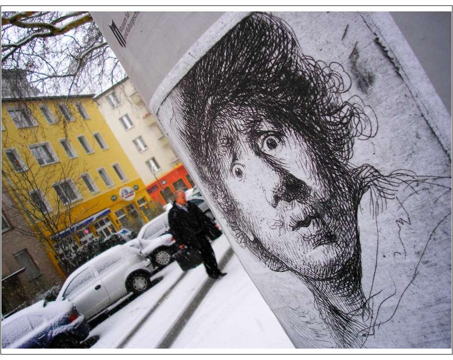 Rembrandt heute in Sorge...