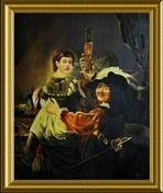 Rembrandt -Kopie (1969 / Öl)