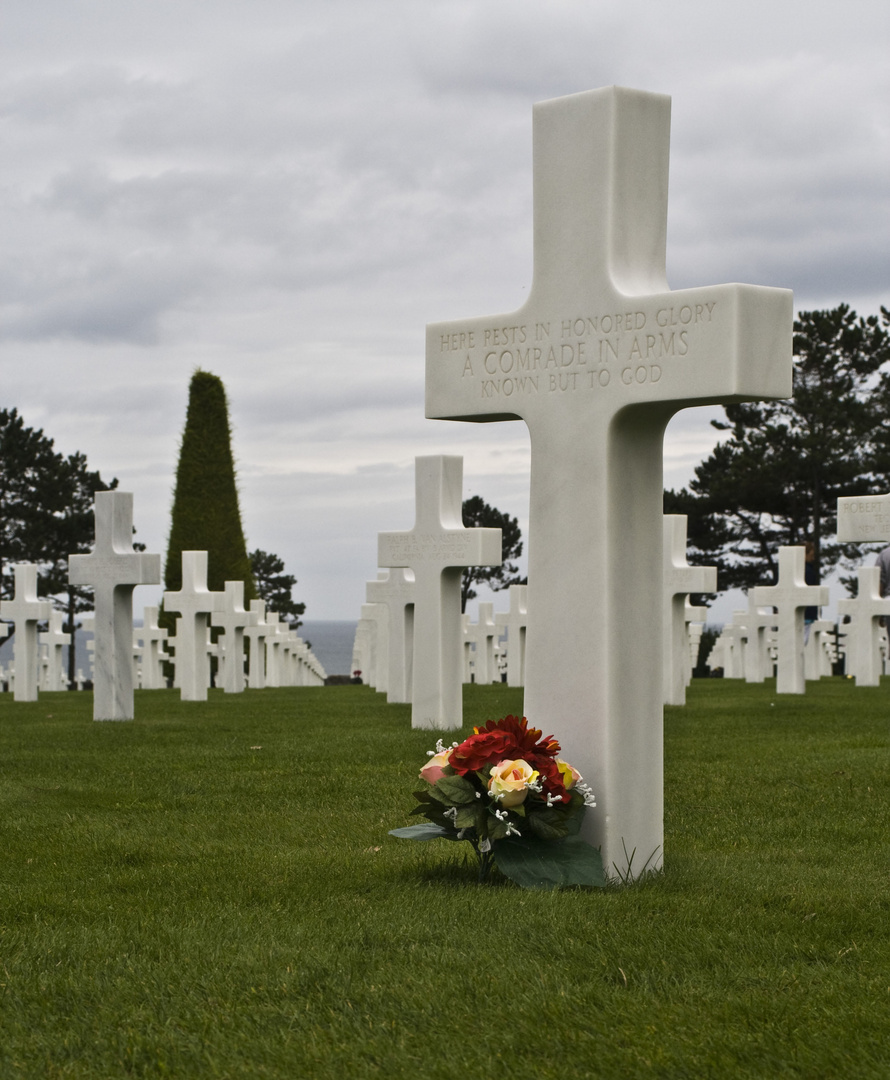 Rememoration (The Normandy American Cemetery)