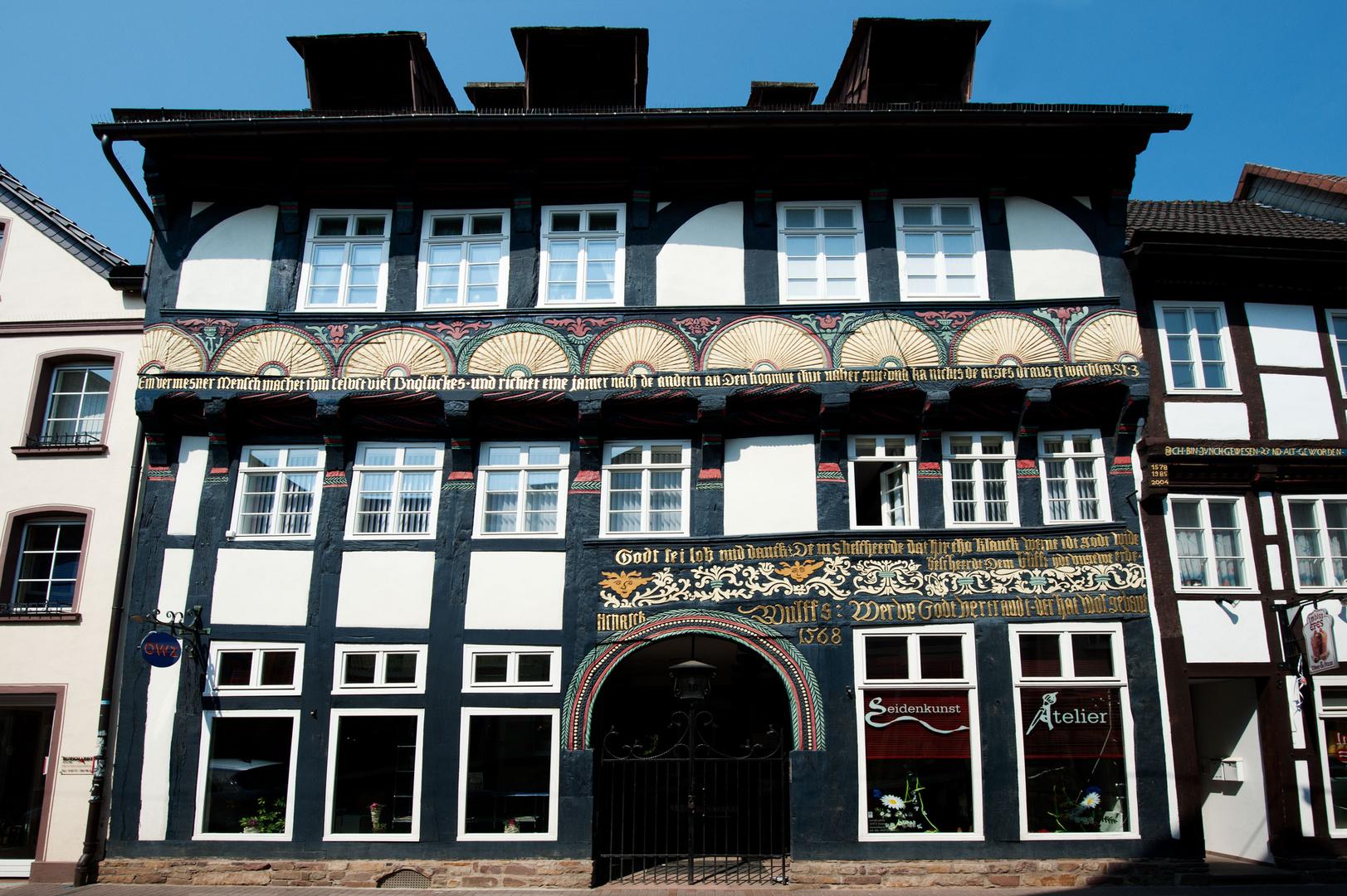 Renaissancezeitliches Fachwerkhaus in der Westerbachstraße in Höxter