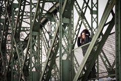 Renate on the Bridge