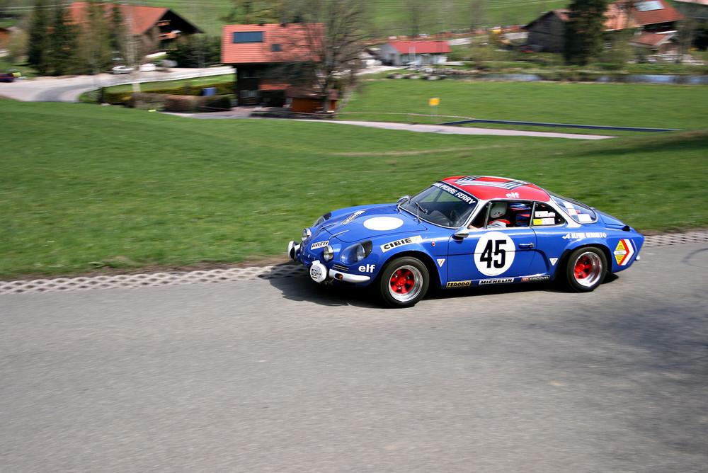 Renault Alpine A110 - Bergrennen Missen 2008