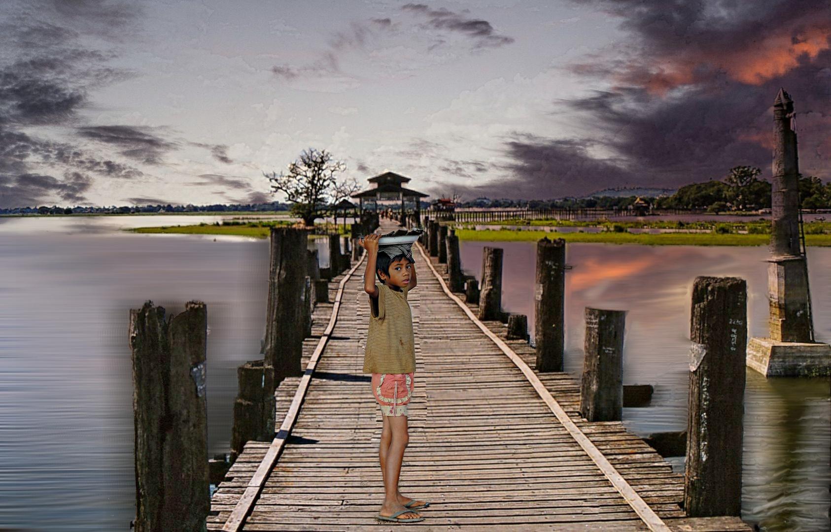 rencontre sur le pont U Bein
