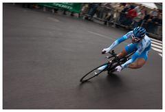 René Haselbacher beim Prolog der Tour de France