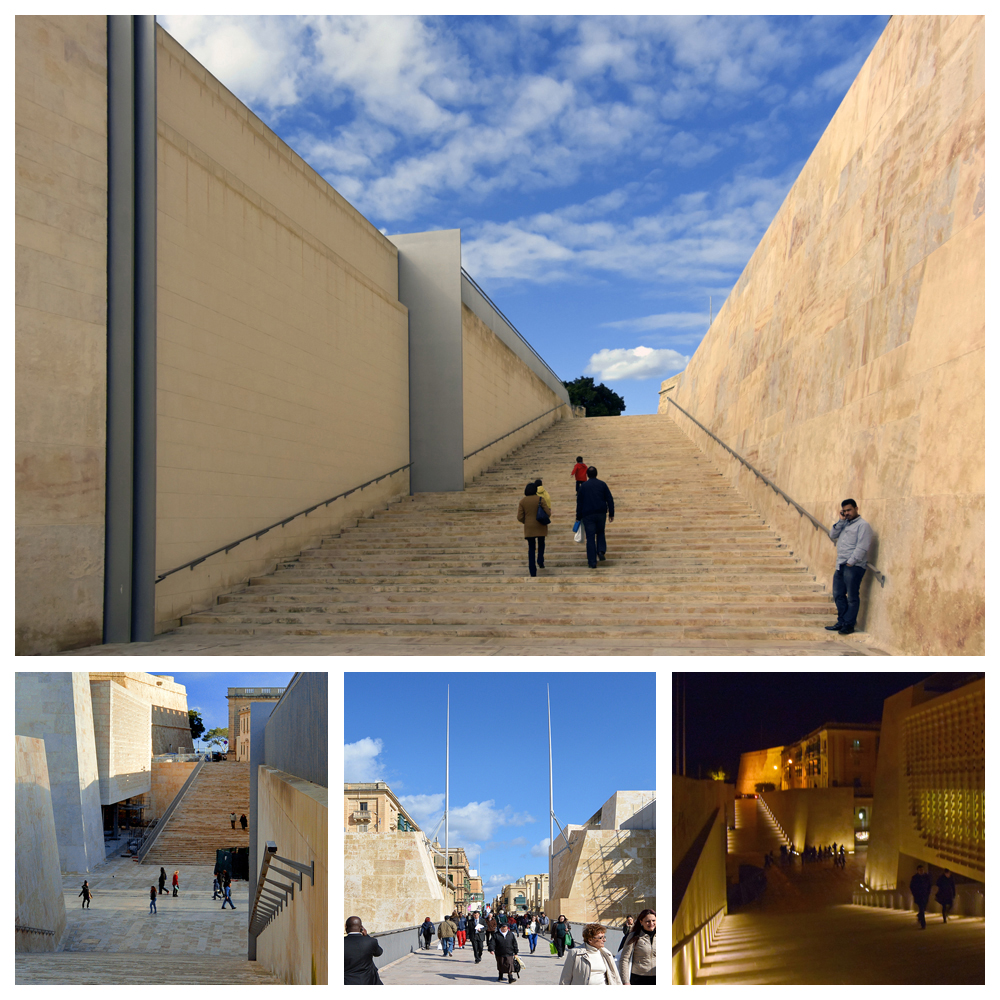 Renzo Piano pimpt Valletta ••