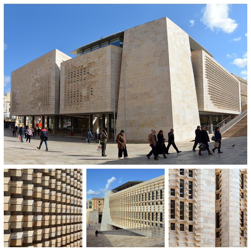 Renzo Piano pimpt Valletta