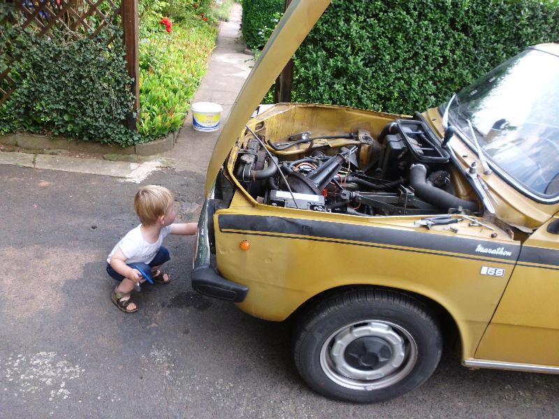 Reparaturhilfe beim DAF66