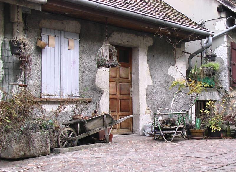 Repos dans le vieux Annecy