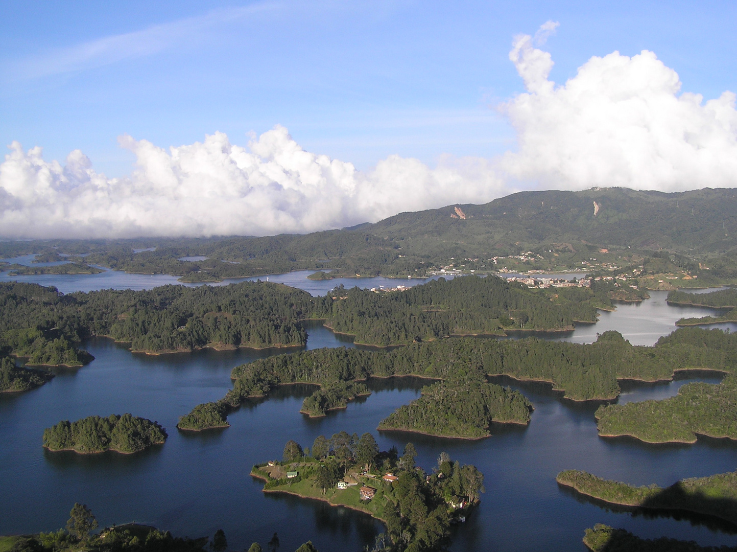 Represa del Peñol, Antioquia, Colombia