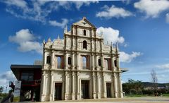 Reprodution of Macau church