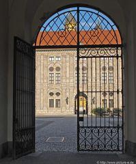 """Residenz in München aus meiner """"Bogenserie"""""""