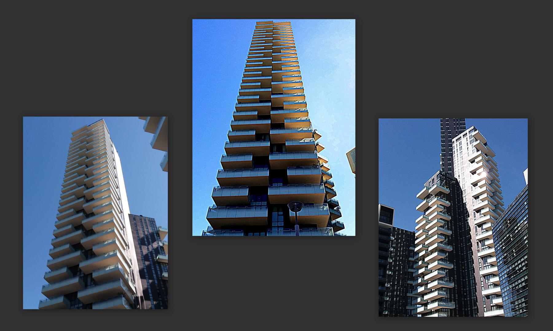 REsidenze Porta nuova e torre Solaria  MIlano futura