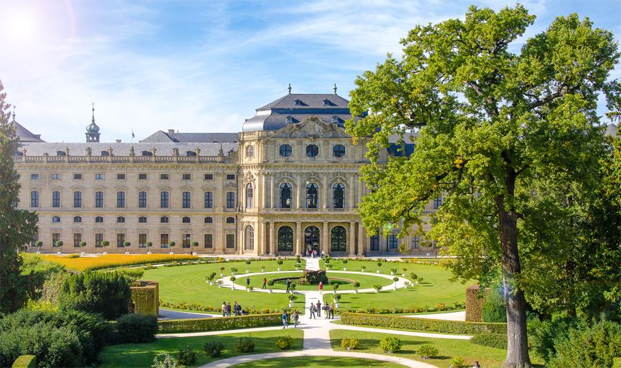 Residenzgarten Würzburg II