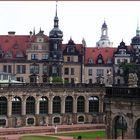 Residenzschloss vom Zwinger aus gesehen ( Dresden )