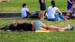 Rest on the Grass