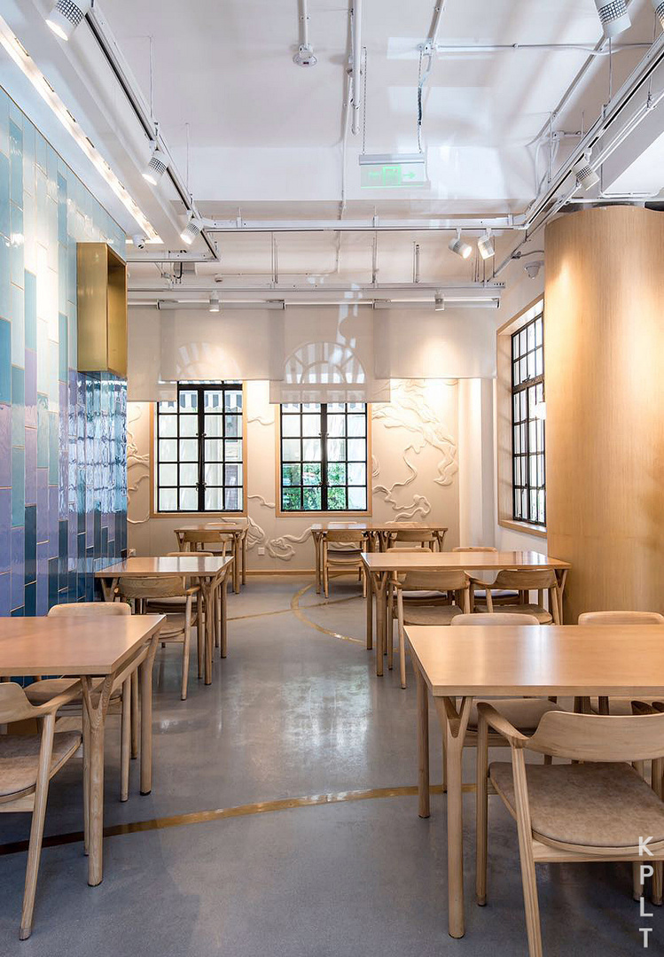 Restaurant backdrop design