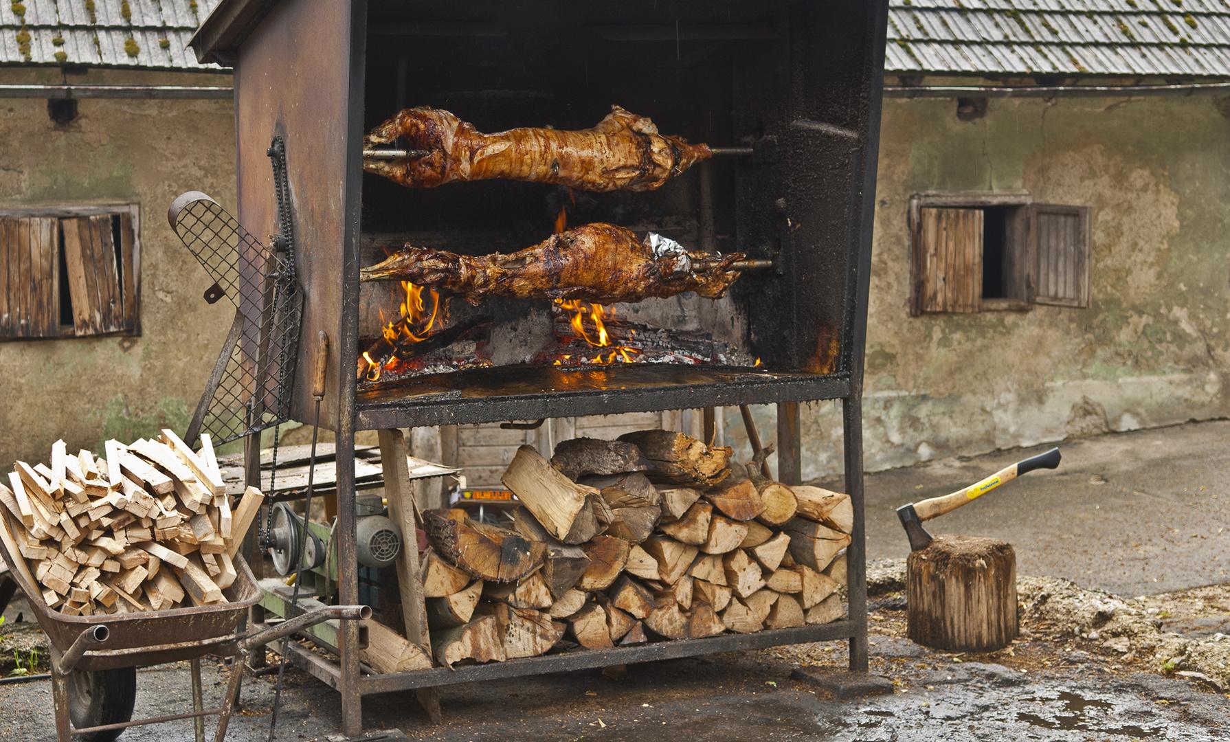 Restaurant in Herzegowina - wer einmal da war, kommt immer wieder