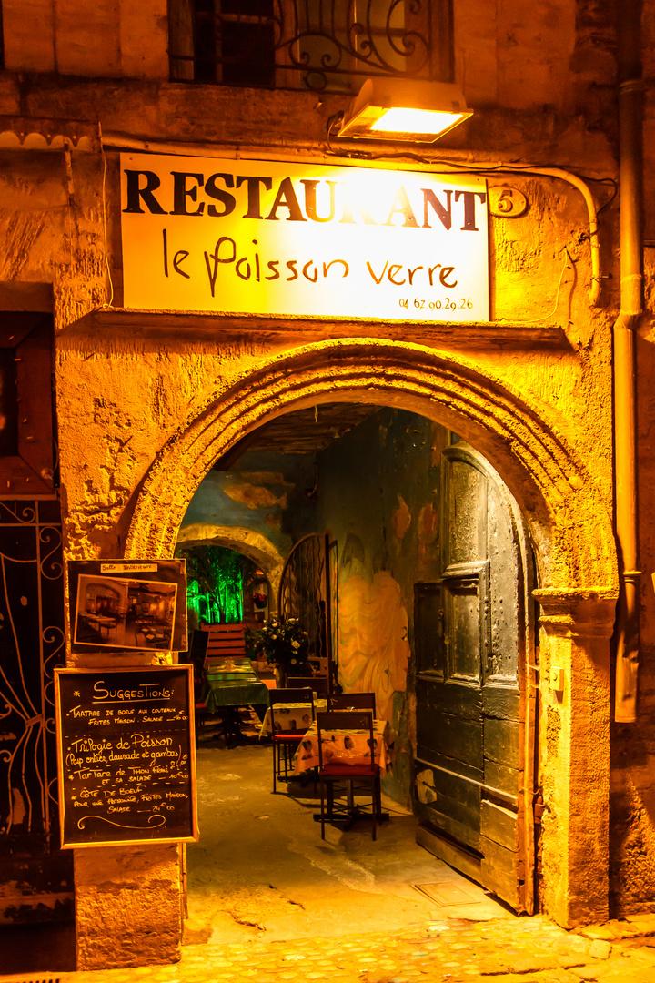 Restaurant in Südfrankreich