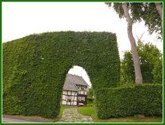 Restaurierte Bauernhöfe in Monschau-Höfen