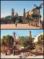 Restaurierungsarbeiten an der Abu-Haggag-Moschee, ….(1)