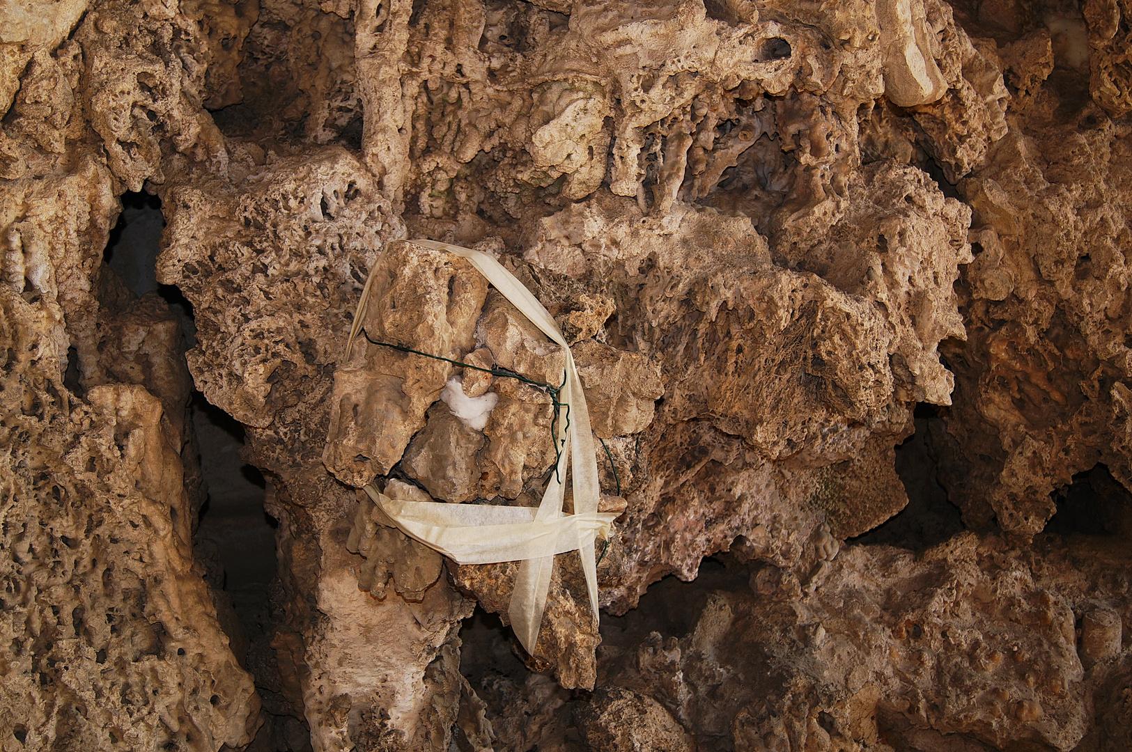 Restauro alla Grotta del Buontalenti. Palazzo Pitti. Firenze. (????????)