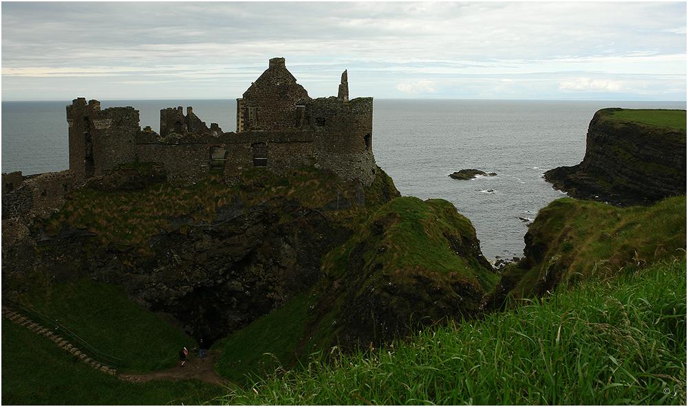 Reste des Dunluce Castle...
