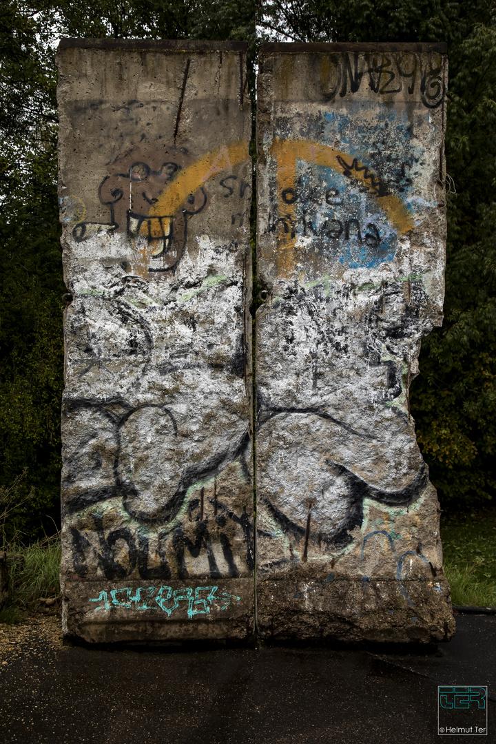 Reste einer ehemals geteilten Stadt