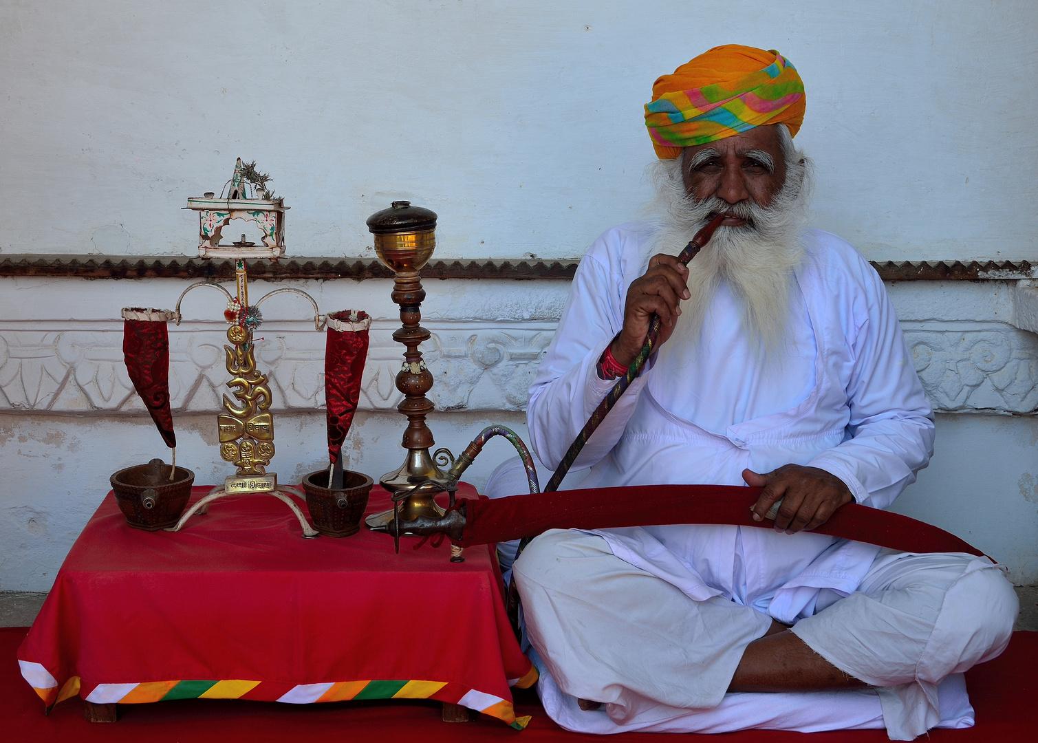 Resting Sikh.